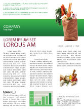 Food & Beverage: Products Newsletter Template #02561