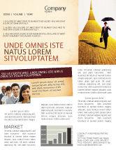 Business: Dream Land Newsletter Template #02566