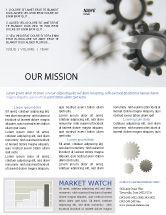 Utilities/Industrial: Getriebe Newsletter Vorlage #02605