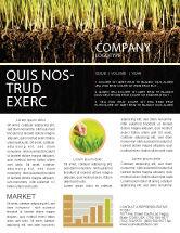 Nature & Environment: Soil Newsletter Template #02607