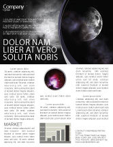 Nature & Environment: Moon Newsletter Template #02670