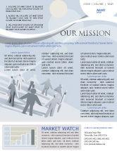 Business Concepts: Modèle de Newsletter de communauté #02677