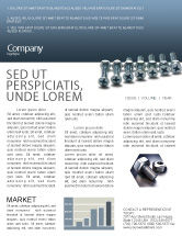 Utilities/Industrial: Screw-Nut and Bolt Newsletter Template #02703