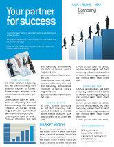 Business: Modèle de Newsletter de carrière réussie #02715
