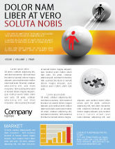 Business Concepts: Relation Newsletter Template #02754