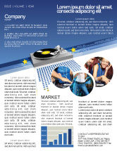 Art & Entertainment: Party DeeJay Newsletter Template #02786
