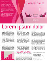 modern newsletter templates in microsoft word adobe illustrator and