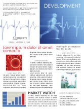 Medical: Pulse Newsletter Template #02839