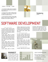 Business Concepts: Locker Newsletter Template #02883