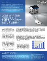 Careers/Industry: Real Estate Property Newsletter Template #02932