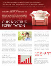 Careers/Industry: Comfort Chair Newsletter Template #02933
