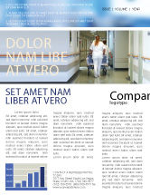 Medical: Reanimation Newsletter Vorlage #02944
