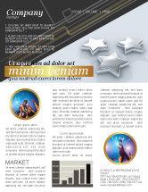Careers/Industry: Stars Newsletter Template #03006