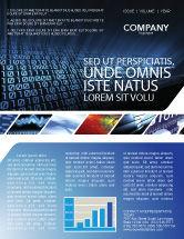 Technology, Science & Computers: Computer Newsletter Vorlage #03128