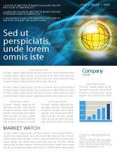 Telecommunication: World Online Newsletter Template #03166