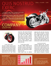 Cars/Transportation: Bike Newsletter Template #03188