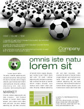 Sports: Football Championship Newsletter Template #03192