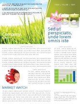 Careers/Industry: SPA Treatment Newsletter Template #03328