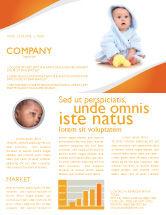 People: Modello Newsletter - Bambino piccolo #03426