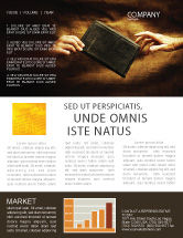 Religious/Spiritual: Christianity Newsletter Template #03436