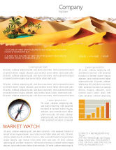 Nature & Environment: Oasis Newsletter Template #03452