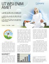 Religious/Spiritual: Modèle de Newsletter de campagne pour la méditation #03454