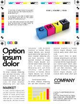 Careers/Industry: CMYK Newsletter Template #03474