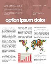 Global: Modèle de Newsletter de diversité mondiale #03543