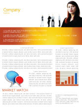 Careers/Industry: Networking Newsletter Template #03552