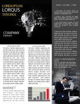 Business Concepts: 뉴스레터 템플릿 - 통찰력 #03572