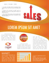Business: Sales Newsletter Template #03579
