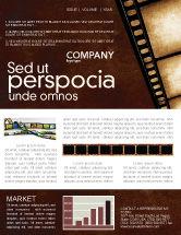 Careers/Industry: Modello Newsletter - Striscia di film #03652