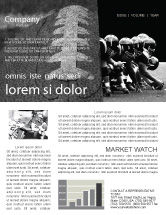 Sports: American Football Dallas Cowboys Newsletter Template #03653