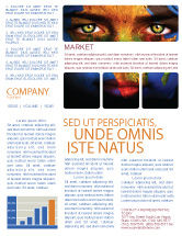 Global: Face of Earth Newsletter Template #03663