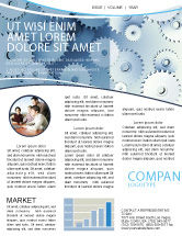 Business Concepts: Details Newsletter Template #03677