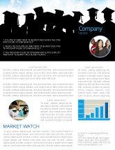 Education & Training: Graduates Newsletter Template #03685