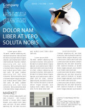 Financial/Accounting: Education Costs Newsletter Template #03703