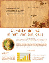 Agriculture and Animals: Autumn Theme in Light Brown Newsletter Template #03734