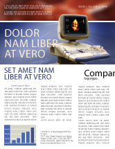 Medical: Ultrasound Newsletter Template #03741