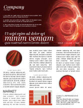 Abstract/Textures: Red Fantasy Newsletter Template #03749