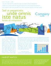 Telecommunication: Information Range Newsletter Template #03755
