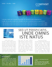 Education & Training: Solution 3D Newsletter Template #03819