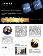 Business: MBA Newsletter Template #03828