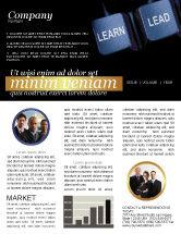 Business: 뉴스레터 템플릿 - mba #03828