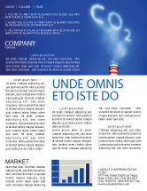 Nature & Environment: Carbonic Gas Newsletter Template #03874