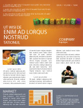 Education & Training: Visual Education Newsletter Template #03875