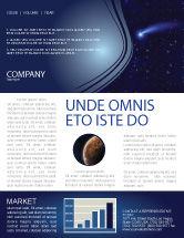 Technology, Science & Computers: Fallen Star Newsletter Template #03889