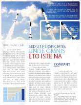 Military: Missiles Newsletter Template #03894