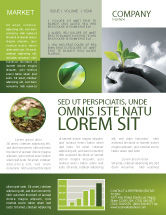 Nature & Environment: New Sprout Newsletter Template #03899