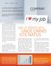 Consulting: Work Motivation Newsletter Template #03938